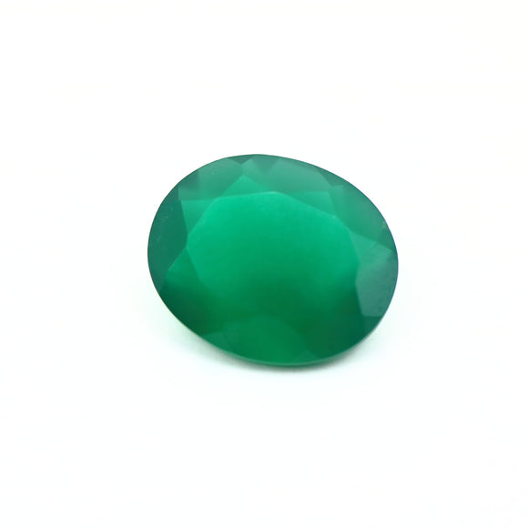 Chrysoprase .59ct 9x11mm Oval Cut - Synonyco.com