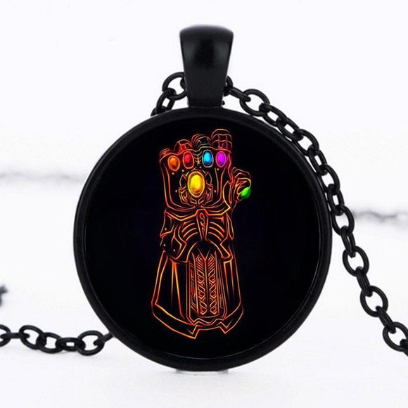 Infinity Glove Cabochon Necklace - Synonyco.com