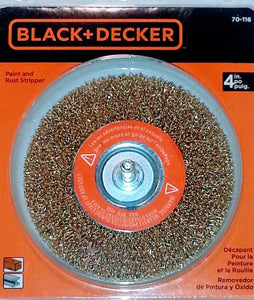 Black & Decker 70-116 Paint/Rust Remover Wheel - Synonyco.com