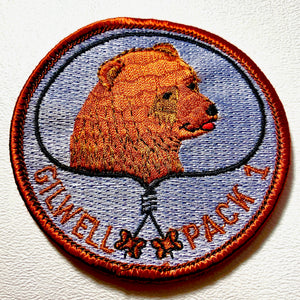 Gilwell Pack 1 Bear Scout Patch - Synonyco.com