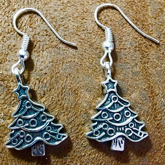 Christmas Tree Earrings - Synonyco.com