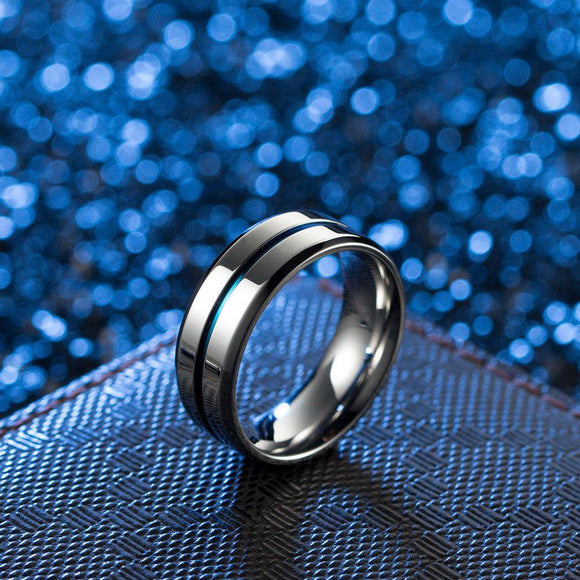 8mm Stainless Steel Ring - Synonyco.com
