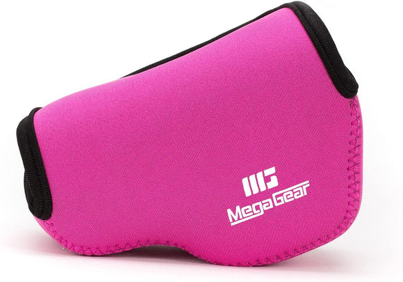 MegaGear ''Ultra Light'' Neoprene Camera Case Bag (Hot Pink) - Synonyco.com