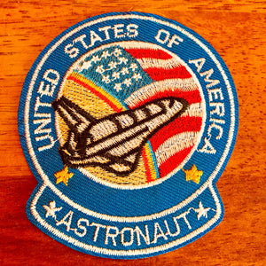 United States Of America Astronaut Patch - Synonyco.com