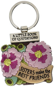 Keyring Quotation Book Stylish, Unique Key Chain