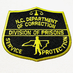 North Carolina Department of Corrections Tactical Patch