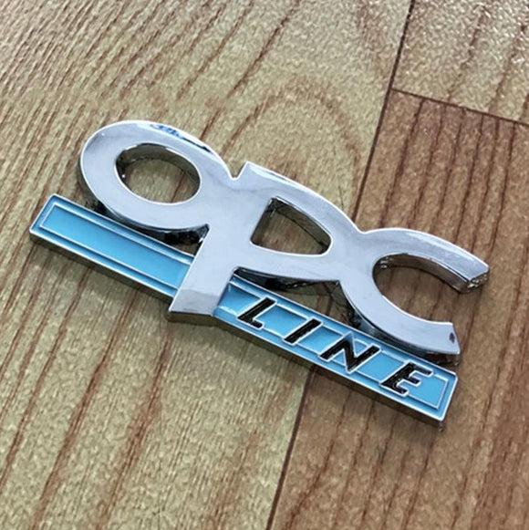Opel Corsa 3D Metal OPC Line Automotive Badge - Synonyco.com