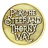 Steep and Thorny Way Commemorative Token