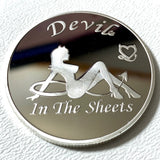 Angel in the Streets Silver Challenge Coin - Synonyco.com