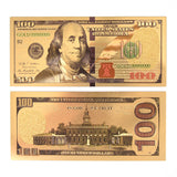 Ben Franklin Commemorative Gold Banknote - Synonyco.com