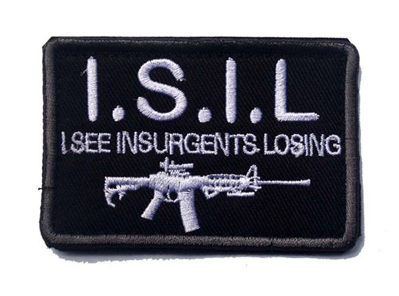 ISIL Embroidered Tactical Patch 3 x 2 - Synonyco.com
