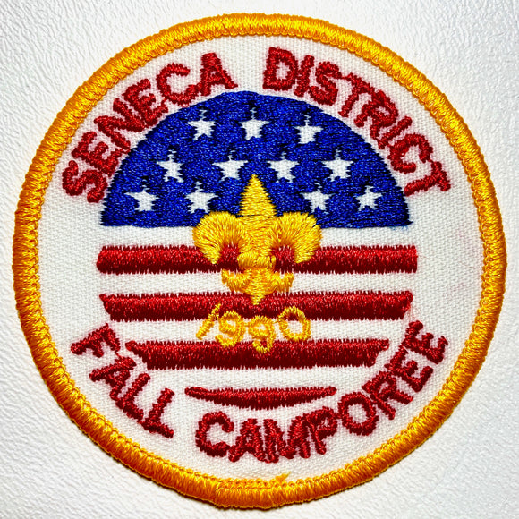 1990 NCAC Seneca Fall Camporee Patch - Synonyco.com
