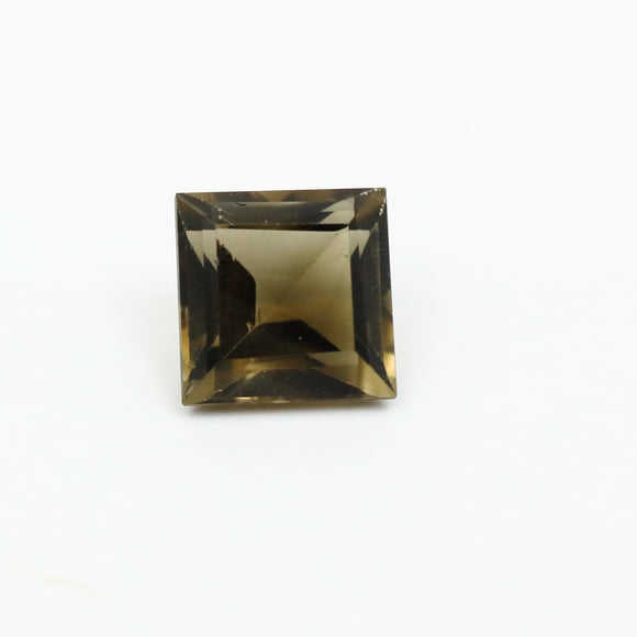 Smokey Quartz Princess Cut 1.69ct 7mm - Synonyco.com