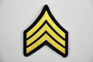 Sergeant Uniform Shoulder Patch - Synonyco.com