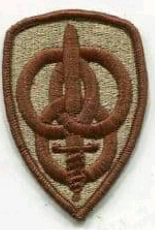 3rd Personnel Command DCU Desert Combat Uniform Patch