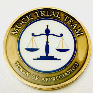 Mock Trial Team Commemorative Token