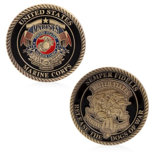 United States Marine Corps USMC Challenge Coin - Synonyco.com