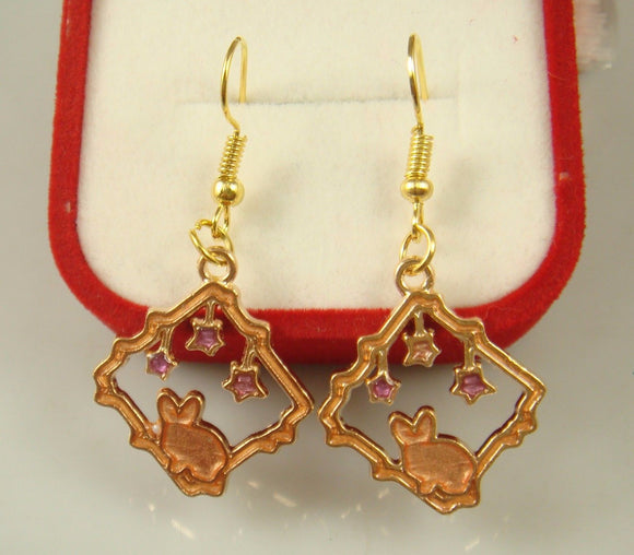 Rabbit Stars Earrings