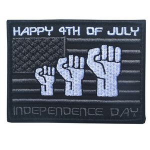 Independence Day Embroidery Morale Patch - Synonyco.com