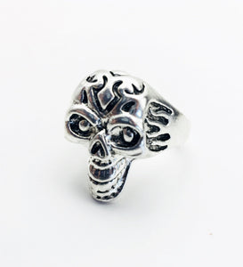 Skull Stainless Steel Ring Size 7.5 - Synonyco.com