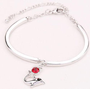 Dolphin Bangle Bracelet - Synonyco.com