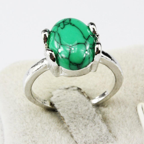 Turquoise Ring Size 6 - Synonyco.com