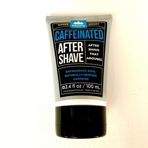 Pacific Shaving Company Caffeinated Aftershave 3.4 oz After Shave Cream