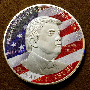 Donald J Trump Make America Great Again Commemorative Coin - Synonyco.com
