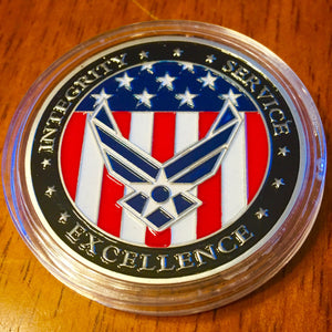 United States Air Force Oath Challenge Coin - Synonyco.com