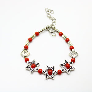 Red Turquoise Fashion Bracelet - Synonyco.com
