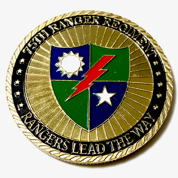 United States Army Rangers Challenge Coin
