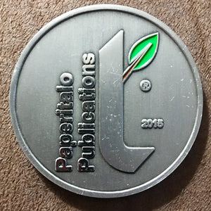 Paperitalo Publications Commemorative Coin - Synonyco.com
