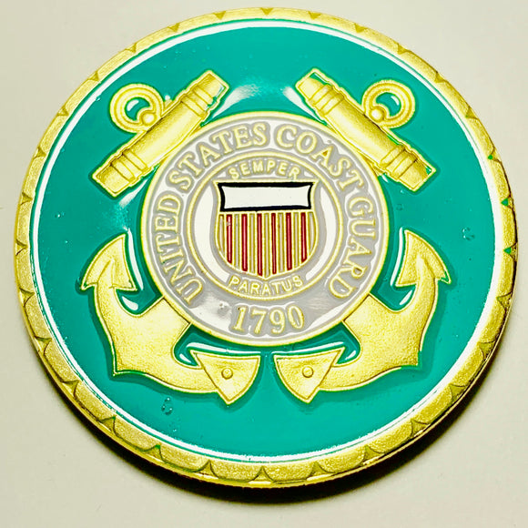 United States Coast Guard Challenge Coin