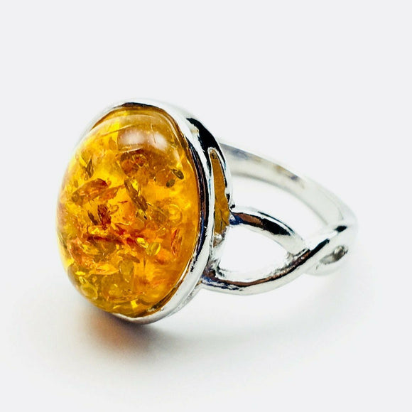 Amber Fashion Ring Size 9