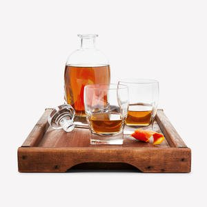 Top-Shelf Liquor Cabinet Set