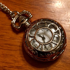 Petite Daisy Pocket Watch - Synonyco.com