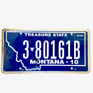 Untagged Montana License Plate 3 80161B