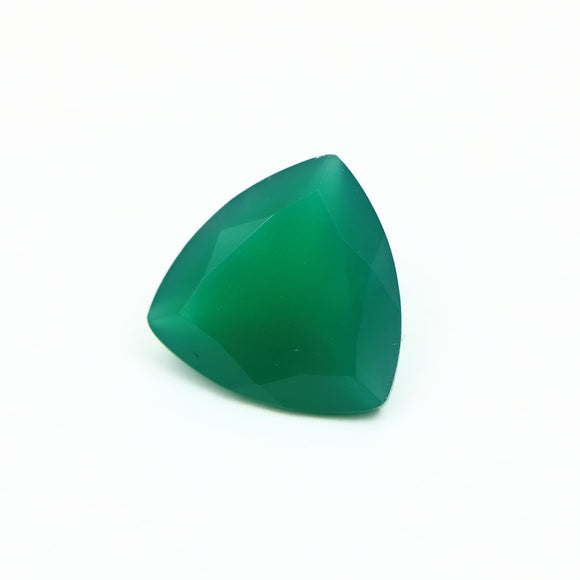 Chrysoprase Trillion Cut Gemstone 2.55ct 10mm - Synonyco.com