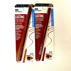 Brand New Bundle of 2 Maybeline Rusty Terracotta Eye Liner