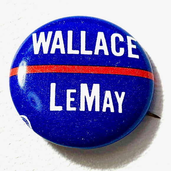 1972 Wallace Presidential Campaign Pin - Synonyco.com