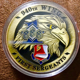 First Sergeants Challenge Coin - Synonyco.com