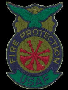 US Air Force Deputy Chief Fire Protection Patch - Synonyco.com