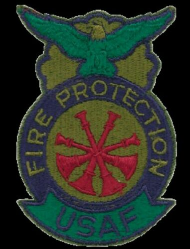 US Air Force Deputy Chief Fire Protection Patch