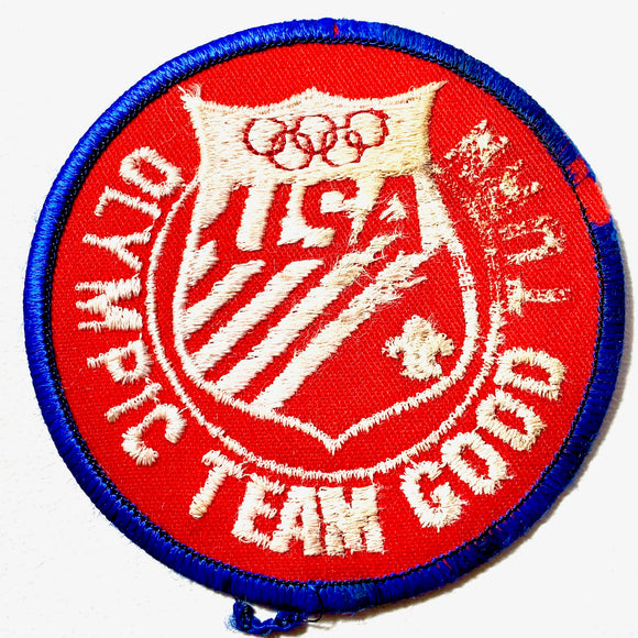 Vintage USA Olympic Team Scout Patch - Synonyco.com