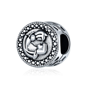 Round Old World Silver Spacer Bead - Synonyco.com
