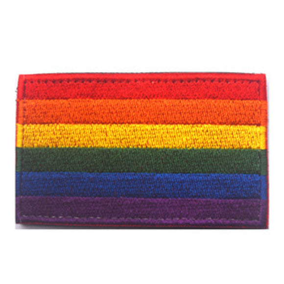 Ranbow Flag Embroidered Patch