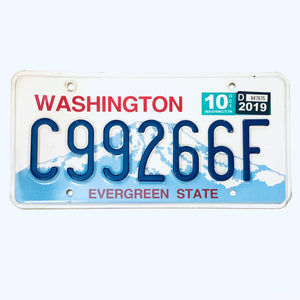 2019 Washington License Plate c99266f