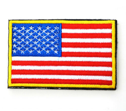 American Flag Tactical Patch 3 x 2
