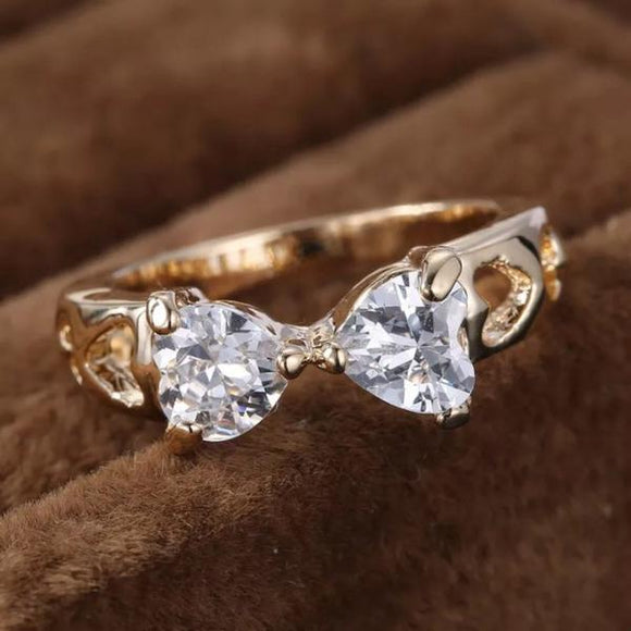 Bowtie Fashion Ring Size 8