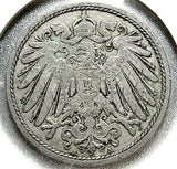 1900 A German Empire 10 Pfennig Coin - Synonyco.com